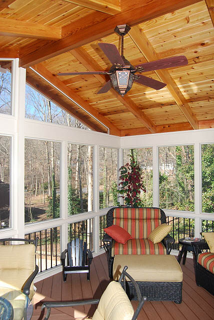 Atlanta Screened Porches Screen Porches Enclosed Porches