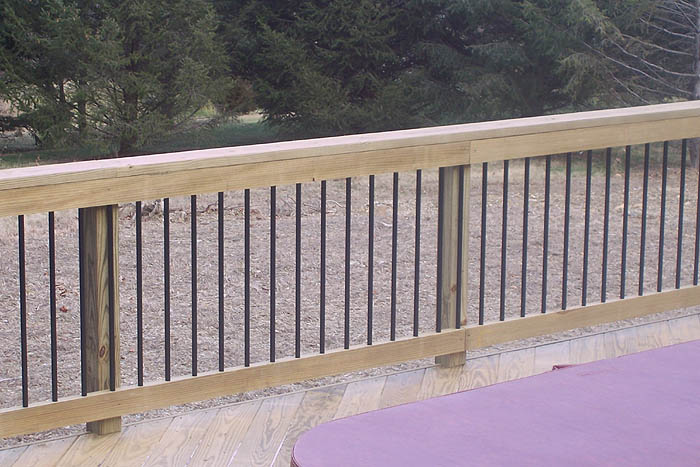 Deck Railings Pictures Custom Deck Railing Spindles And